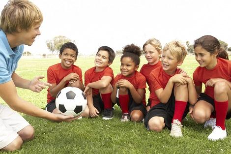 Pushing children in sport …